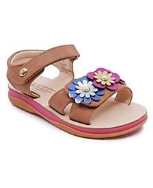 Little Girls Adjustable Strap Sandal