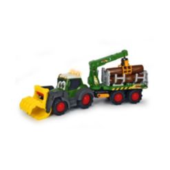 """Dickie Toys Happy Fendt 25"""" Forester Truck and Trailer"""