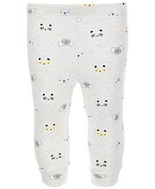 Baby Boys Animal-Print Jogger Pants, Created for Macy's
