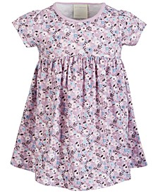 Baby Girls Ditsy Floral Cotton Dress, Created for Macy's