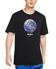 Men's Earth Basketball T-Shirt