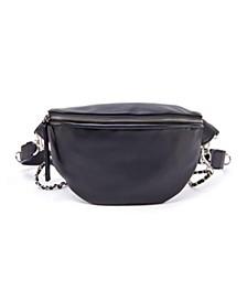 Chain Embellished Belt Bag