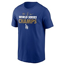 Men's Los Angeles Dodgers World Series Champ Gold T-Shirt