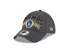 Los Angeles Dodgers 2020 World Series Locker Room 39THIRTY Cap