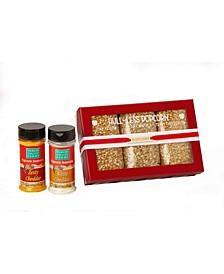Hull-Less Cheesy Popcorn Set