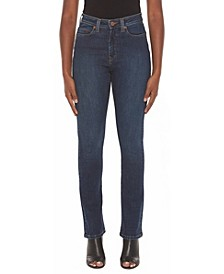 Women's High-Rise Straight Jeans