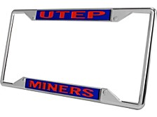 UTEP Miners Laser License Plate Frame