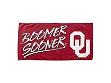 "Oklahoma Sooners 30x60 ""Buzzword"" Beach Towel"