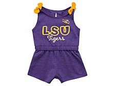 Baby Girls LSU Tigers Harparoo Cotton Romper
