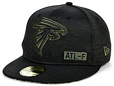 Men's Atlanta Falcons 2020 On-Field Salute To Service 59FIFTY Cap