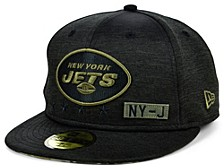 New York Jets 2020 On-field Salute To Service 59FIFTY Cap