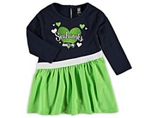 Seattle Seahawks Toddler Girls Tunic Dress