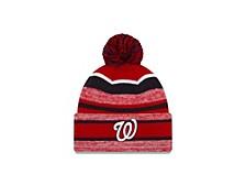 Washington Nationals Striped Marled Knit