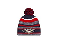 New Orleans Pelicans Striped Marled Knit Hat