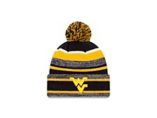 West Virginia Mountaineers Striped Marled Knit Hat