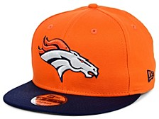 Denver Broncos Basic 9FIFTY Snapback Cap