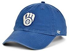 Milwaukee Brewers Timber Blue CLEAN UP Cap