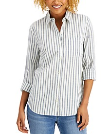 Cotton Striped Shirt, Created for Macy's