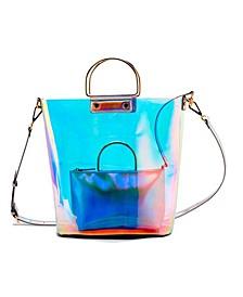 Transparent Polyurethane Tote Bag Set