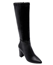Women's Mabel Block-Heel Tall Dress Boots