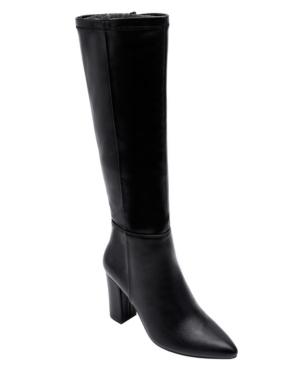 Women's Mabel Block-Heel Tall Dress Boots Women's Shoes