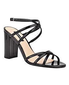 Nine West Women's Obvi Strappy Dress Sandals