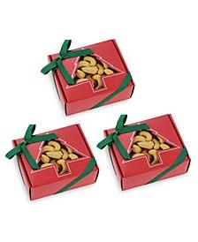 Natural Jumbo Cashews Holiday Gift Box, Set of 3
