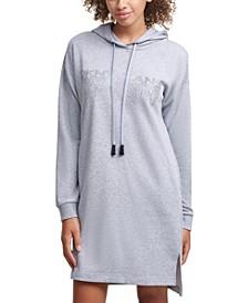 Shine Logo Sweatshirt Dress