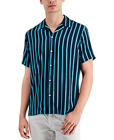 INC Men's Toby Striped Shirt, Created for Macy's