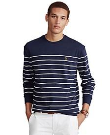 Men's Classic-Fit Striped Soft Cotton T-Shirt