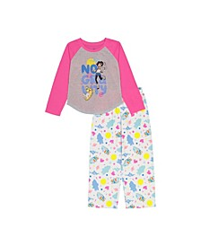 Over The Moon Big and Little Girls 2 Pieces Set