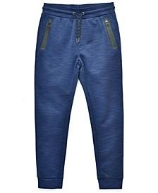 Big Boys Cool Space Dye Fleece Jogger, Made For Macy's