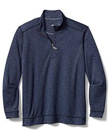 Men's Beach Mist Half-Zip Pullover