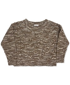 Trendy Plus Size Ballet-Neck Sweater
