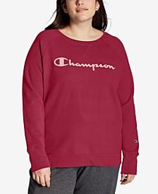 Plus Size Powerblend Signature Graphic Sweatshirt