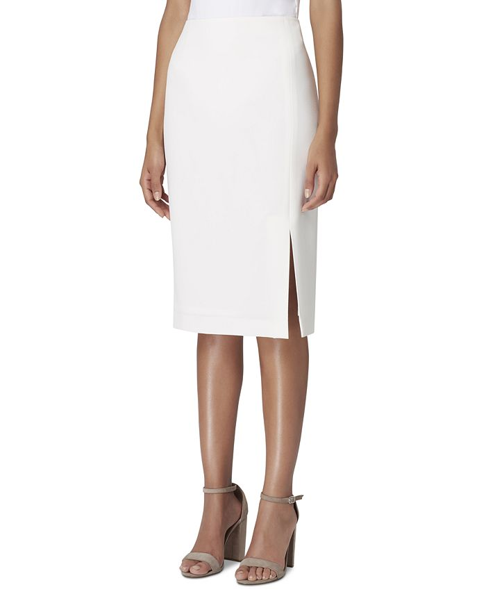 Tahari ASL - Back-Slit Pencil Skirt