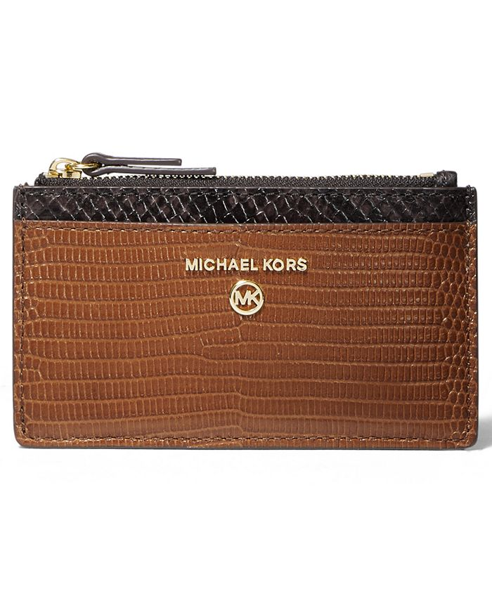 Michael Kors - Jet Set Charm Slim Leather Card Case