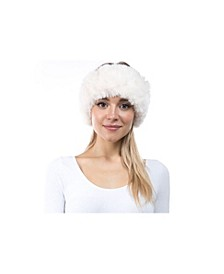 Women's Faux Fur Stretch Headband