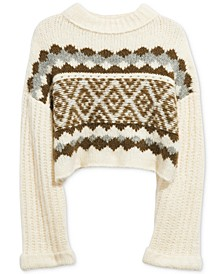 Alpine Pullover Sweater