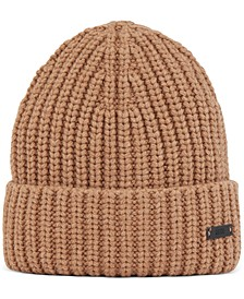 BOSS Men's Manias Chunky-Knit Beanie Hat
