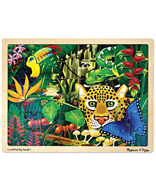Melissa and Doug Kids Toy, Rain Forest 48-Piece Jigsaw Puzzle