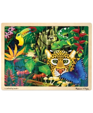 Melissa and Doug Kids Toy Rain Forest 48Piece Jigsaw Puzzle