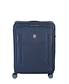 "VX Avenue 27.5"" Large Expandable Softside Spinner Suitcase"