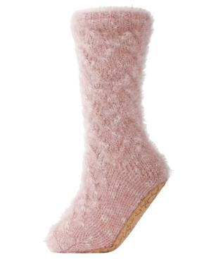 Fifth Avenue Plush Lined Women's Slipper Sock
