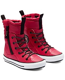 Big Girls Water Repellent Chuck Taylor All Star MC High Top Boots from Finish Line