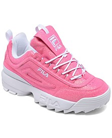 Big Girls Disruptor 2 Glimmer Casual Sneakers from Finish Line