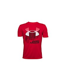 Big Boys Tech Symbol Stripe Fade T-shirt