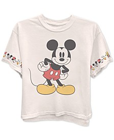 Trendy Plus Size Mickey Mouse T-Shirt