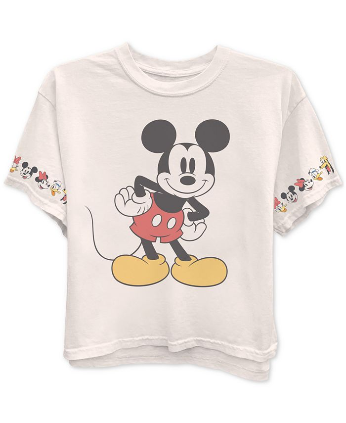 Disney - Juniors' Mickey Mouse & Friends Graphic T-Shirt