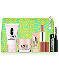 Receive a Free 6-PC GWP with any $75 Clinique purchase! (A $81 value!)